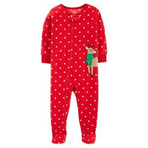 Carter's Toddler Footed Pajamas Christmas Fleece